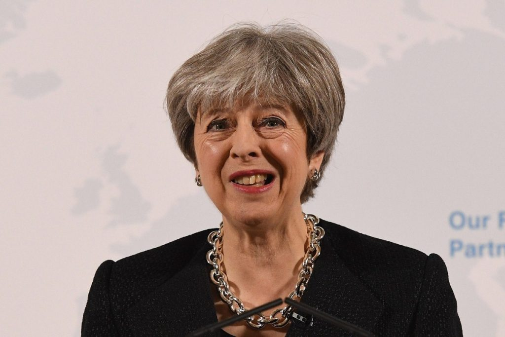 May speech: Last ditch attempt to improve position before business end of talks begins.