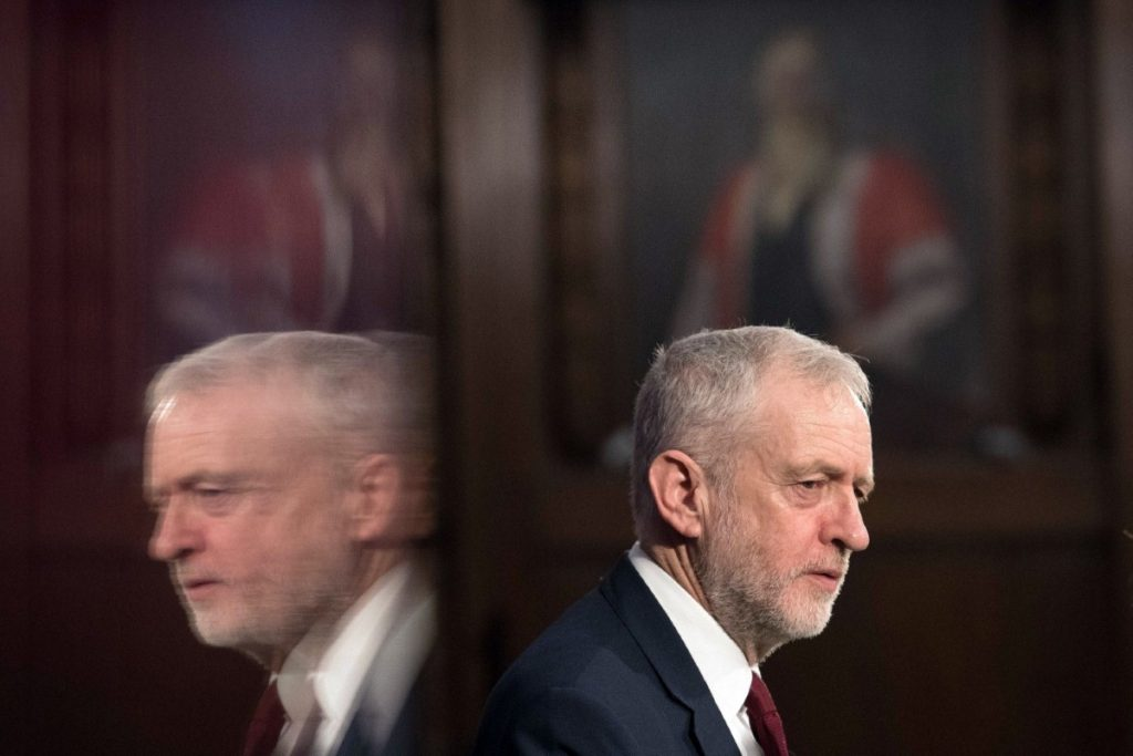 Corbyn has been beset by complaints recently over his handling of anti-semitism, the Salisbury attack and now Syria