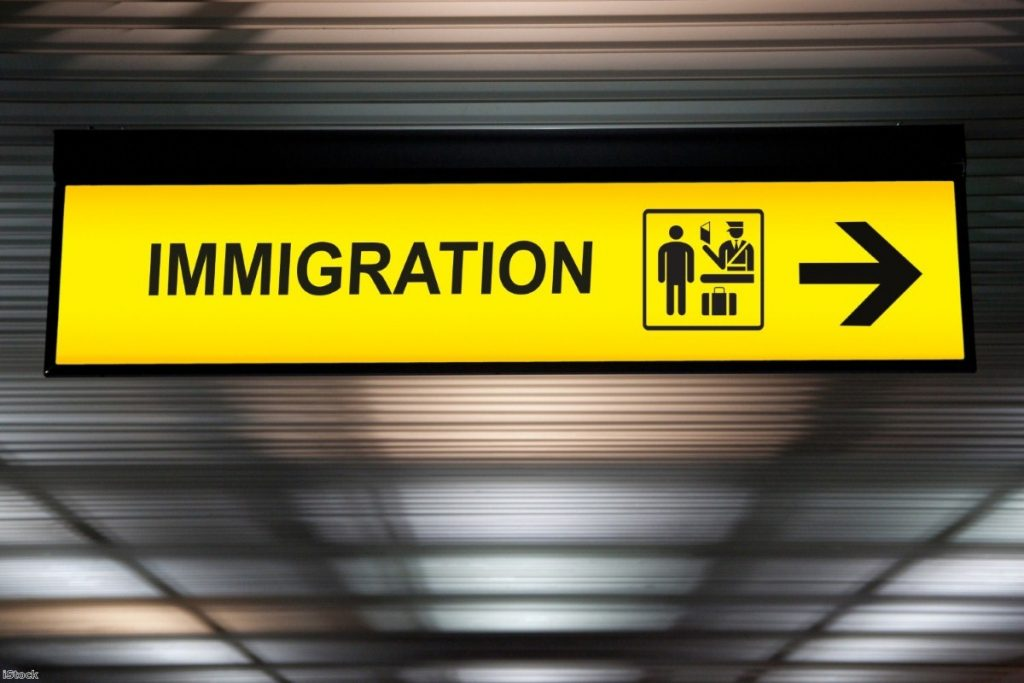 Airport immigration and customs sign | Copyright: iStock