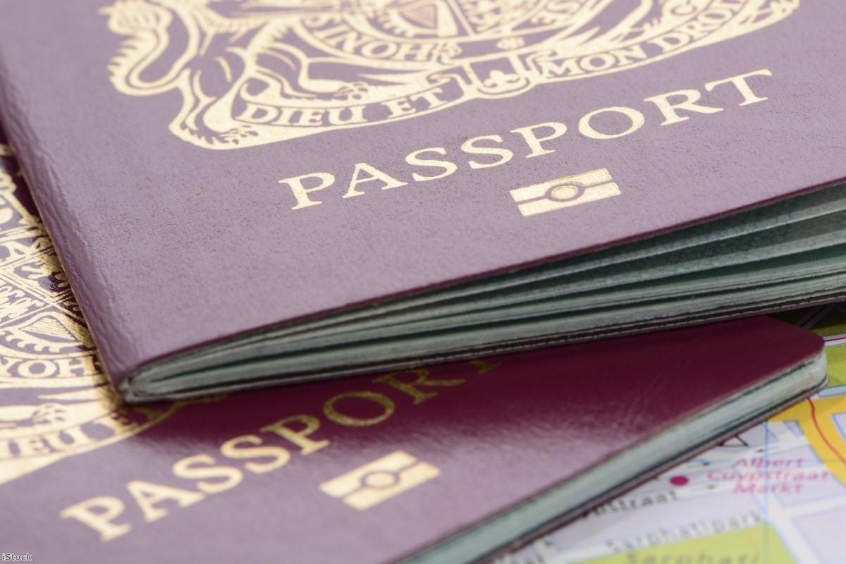 UK biometric passports   Copyright: iStock