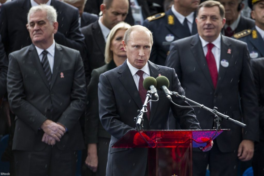 Vladimir Putin   Copyright: iStock