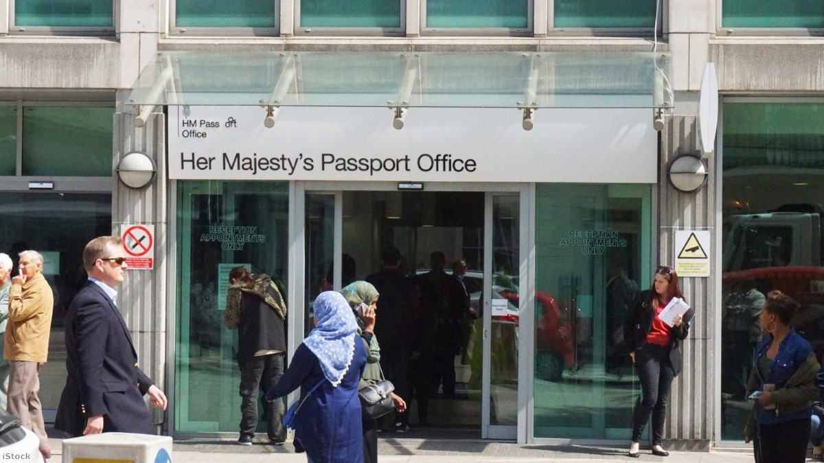 Her Majesty's Passport Office in London   Copyright: iStock