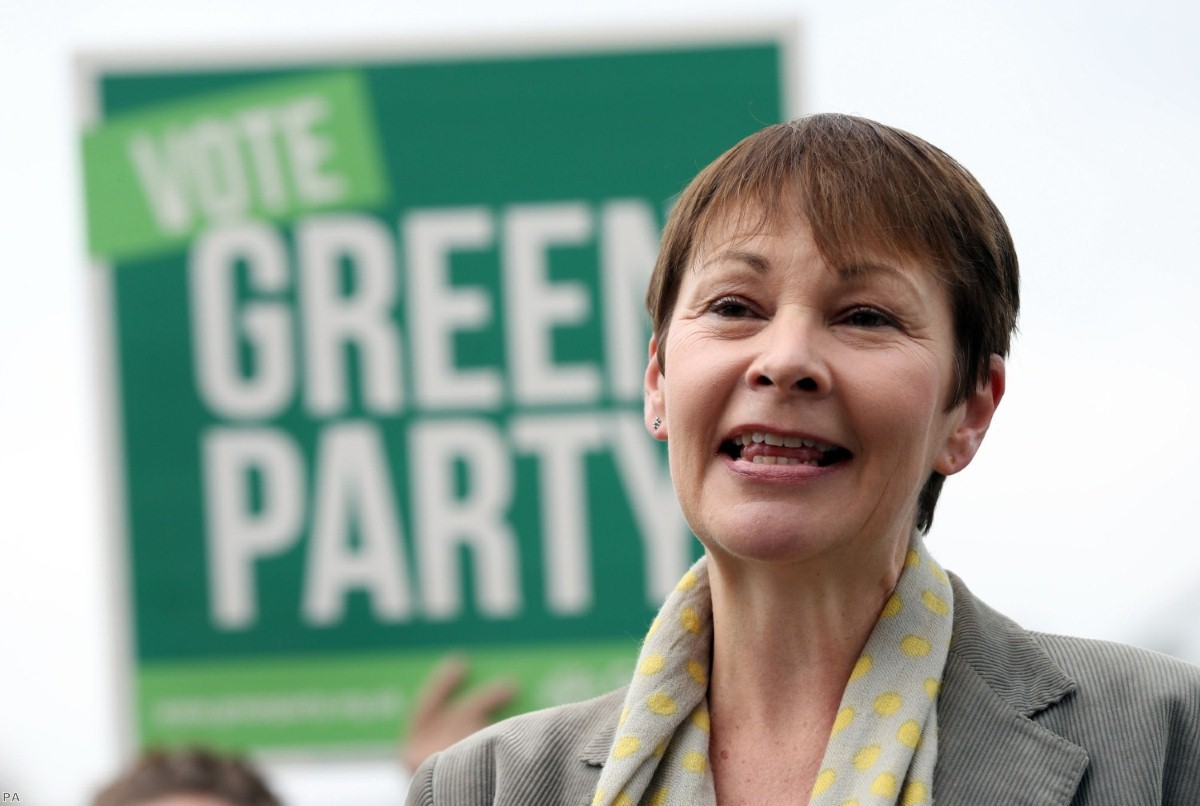 Green Party co-leader Caroline Lucas   Copyright: PA