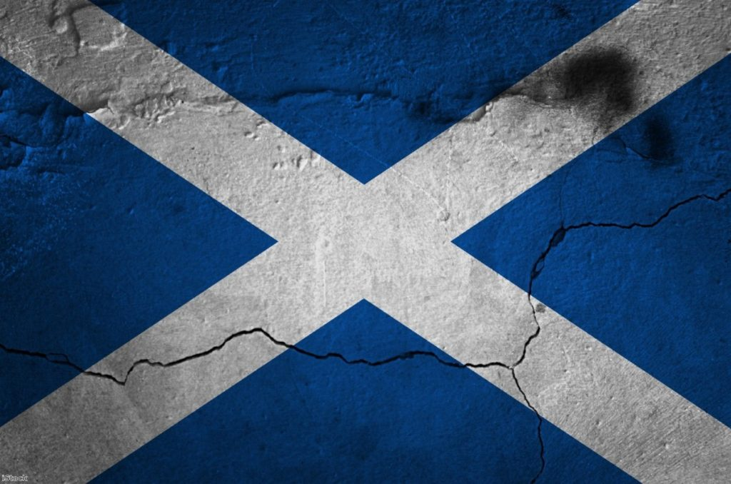 Scottish independence is fading away just as it's proved right.   Copyright: iStock