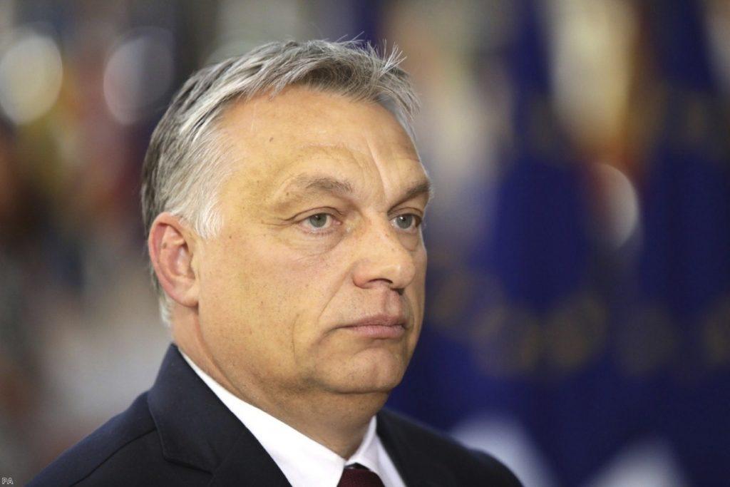 Hungarian Prime Minister Viktor Orban   Copyright: PA