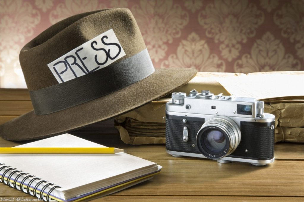 There aren't very many working-class people in journalism | Copyright: iStock / Ephotographer