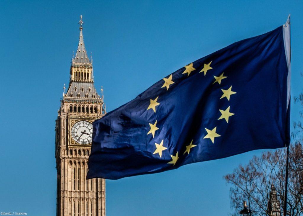 European Union flag in front of Big Ben   Copyright: iStock / luaeva