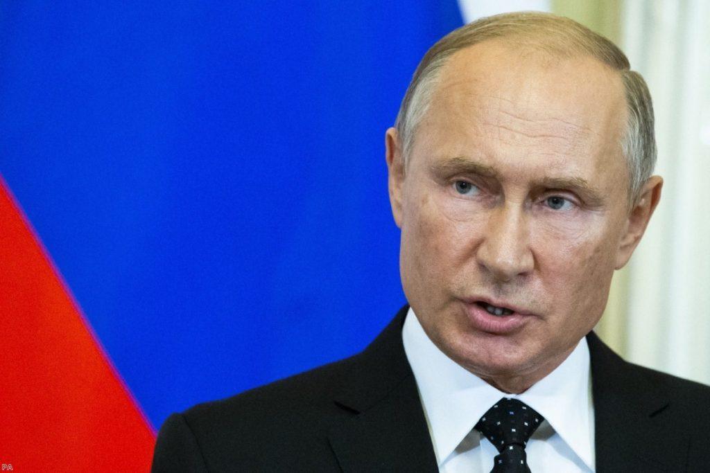 Russian President Vladimir Putin   Copyright: PA