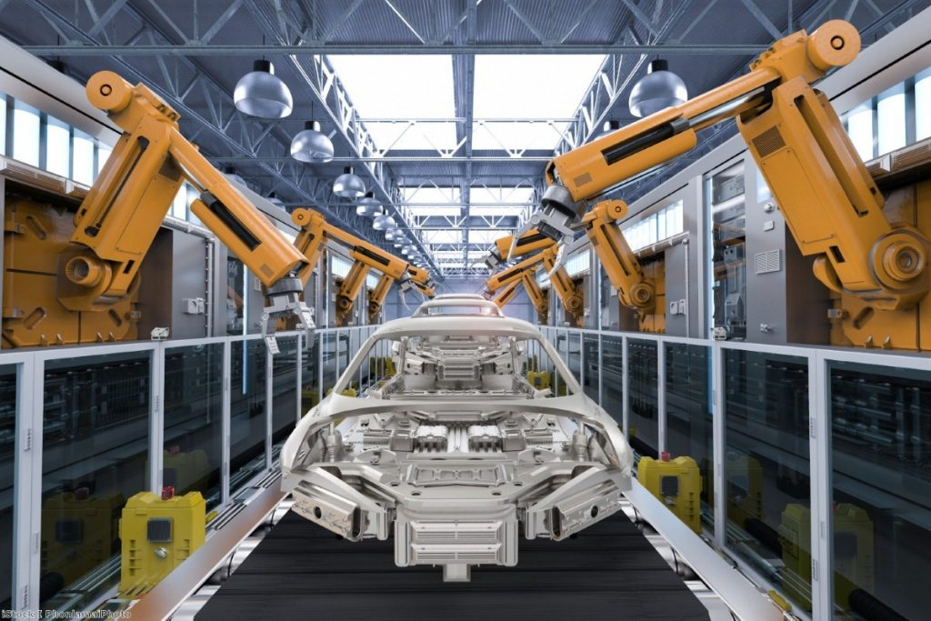 Car production: Moving away from the UK.