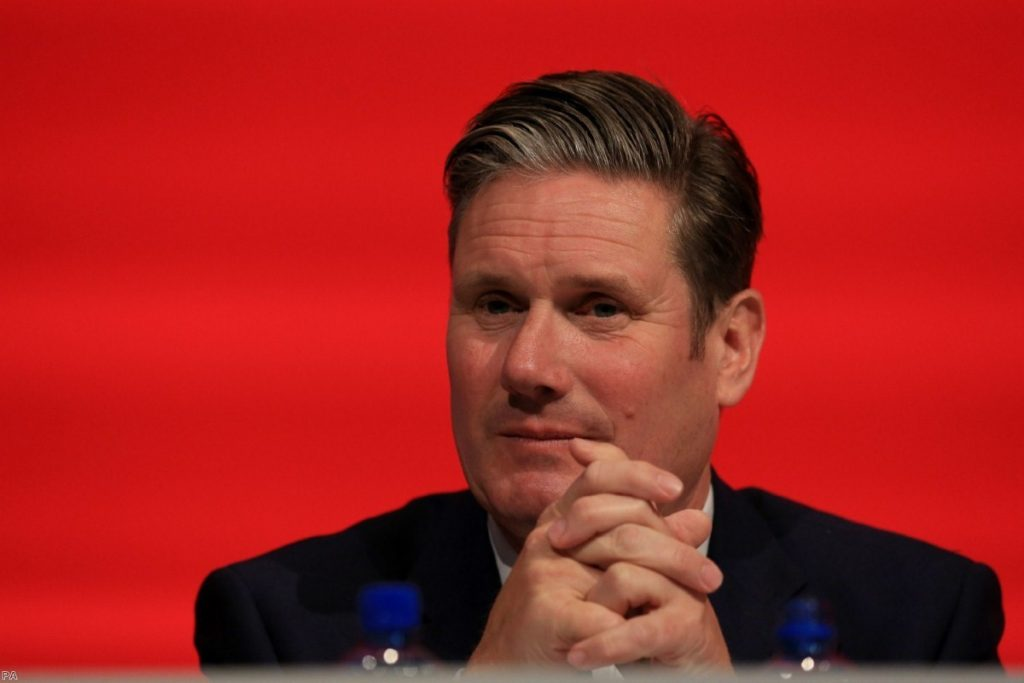 Starmer has shifted the Labour position in slow but firm movements over the last two years