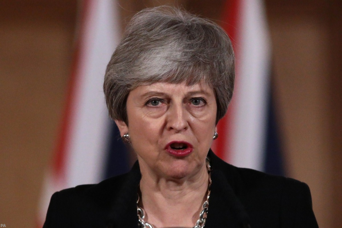 May announces another Article 50 extension earlier this week.