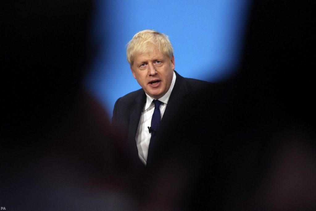 Johnson: Defeated by MPs before he is even in office