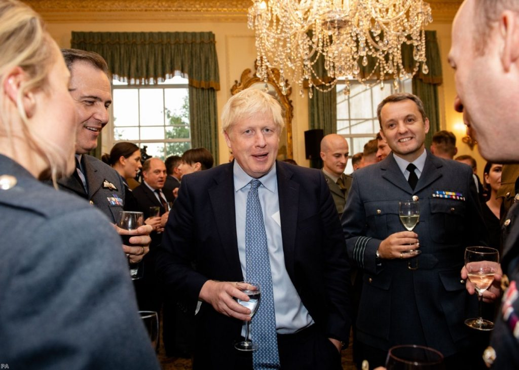 Boris Johnson: Few options left and running out of time.