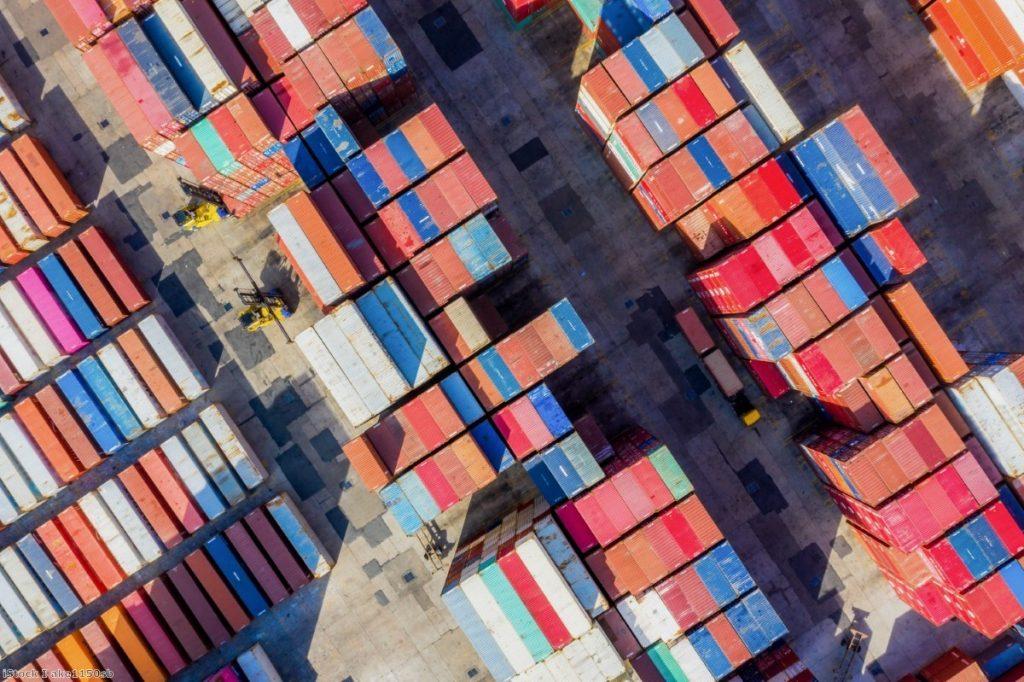 Trade block: The customs union plan would still involve checks.