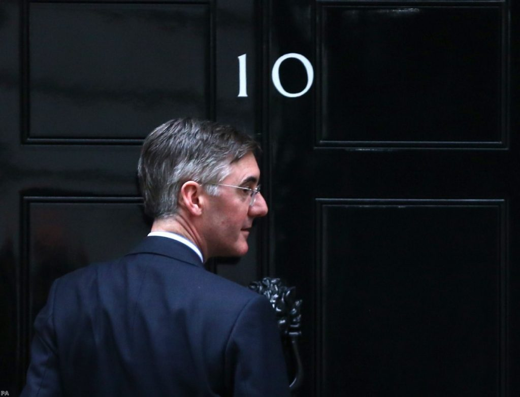 Jacob Rees-Mogg is under fire for comments about Grenfell.