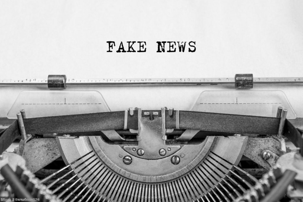 The fake news problem: Advertising models help to prop up sites publishing hateful content.