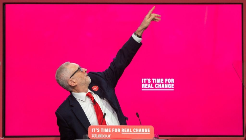 Corbyn gone: New leader to be chosen.