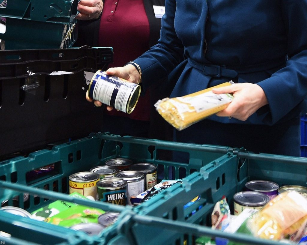 Islington food bank announced a closure this week, with other centres expected to follow.