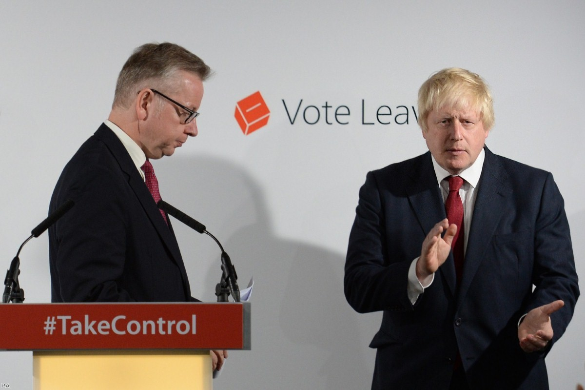 Vote Leave campaign: What was then dismissed is now officially acknowledged.