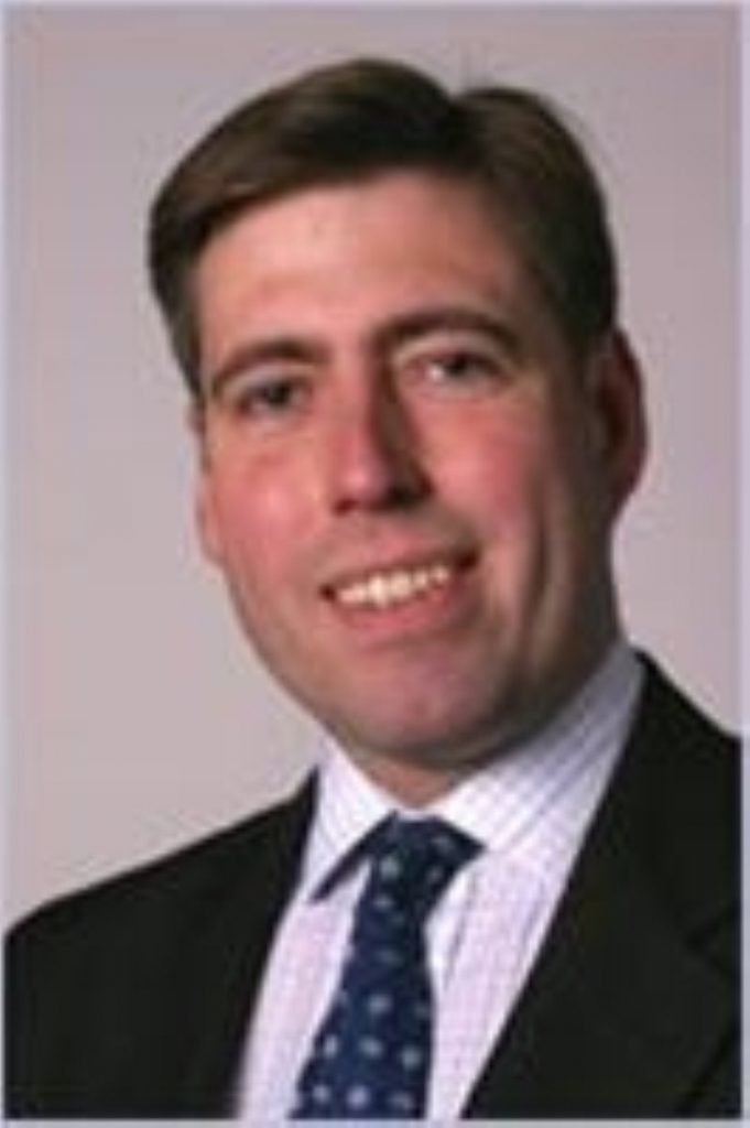 Tory Europe spokesman Graham Brady has left the front bench following a clash over grammar schools