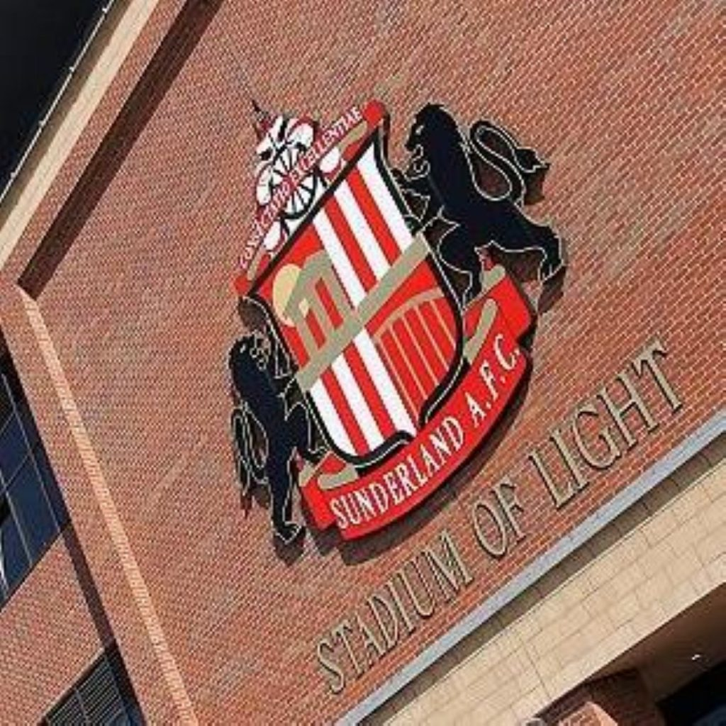 The Stadium of Light: PR officials tried to stop journalists asking questions about Sunderland's new manager today.