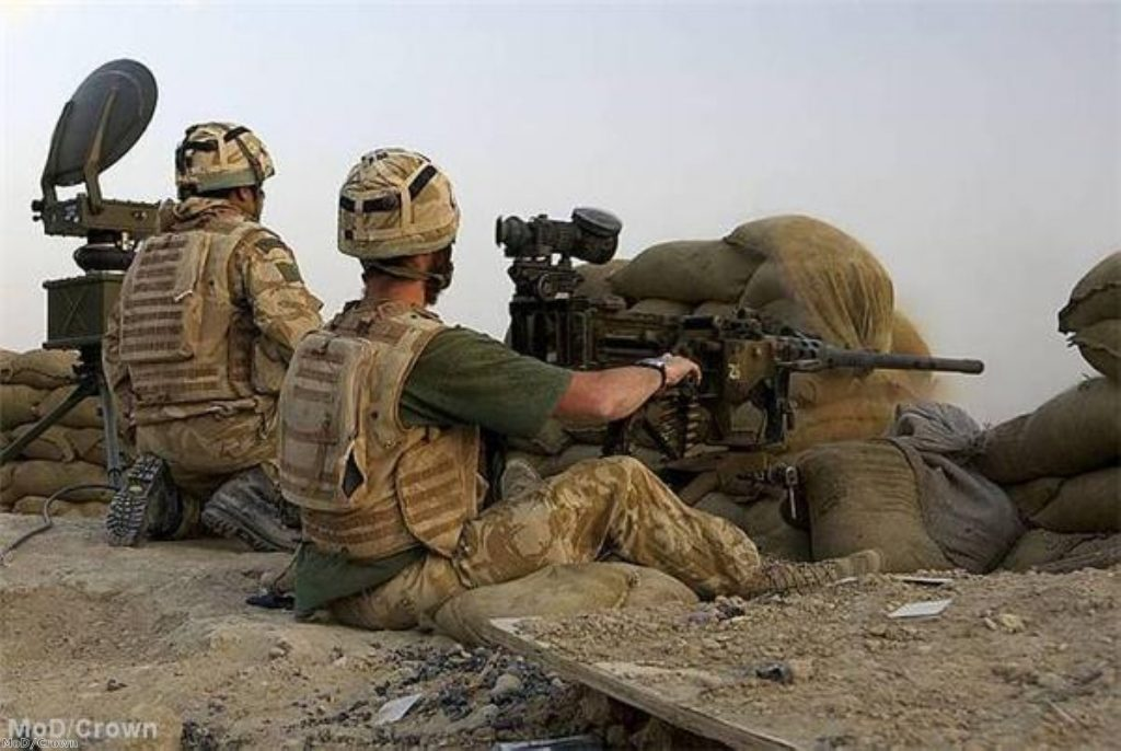 Mr Clegg insists UK troops will be withdrawn from Afghanistan by 2015