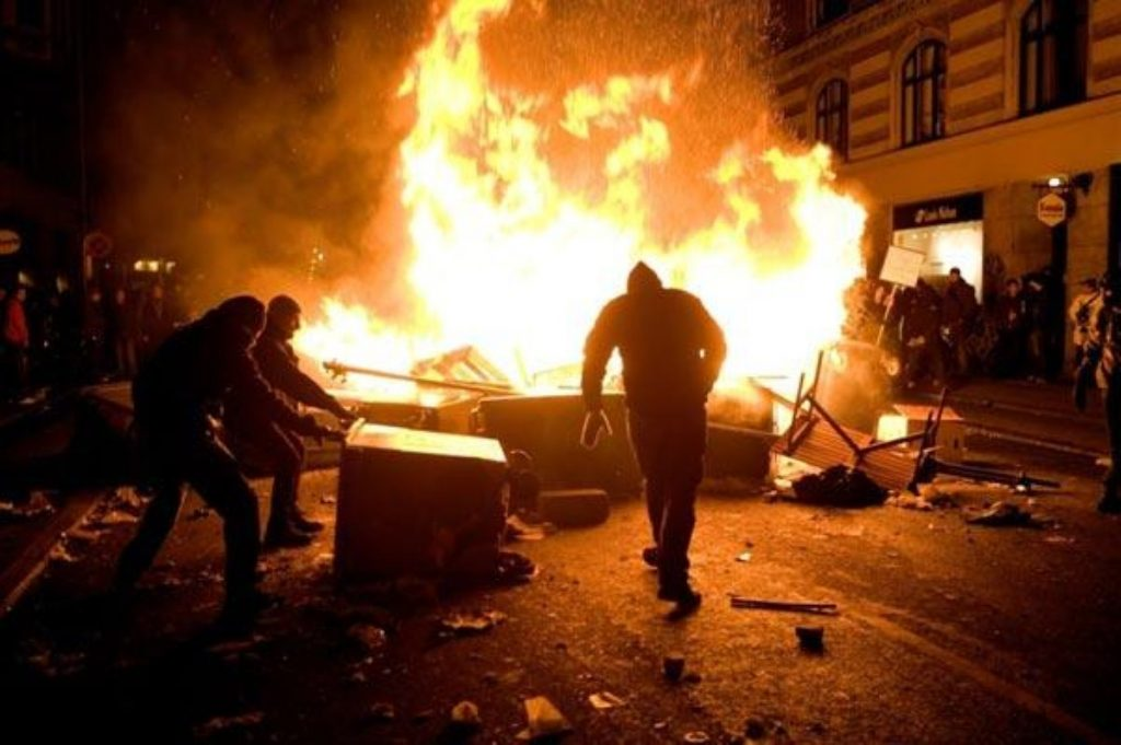 The riots were a 'one-off' event, the prison minister insists