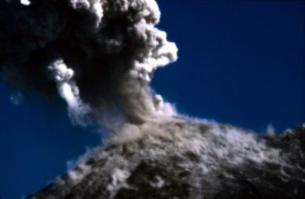 How a sexual volcano might look from a great distance