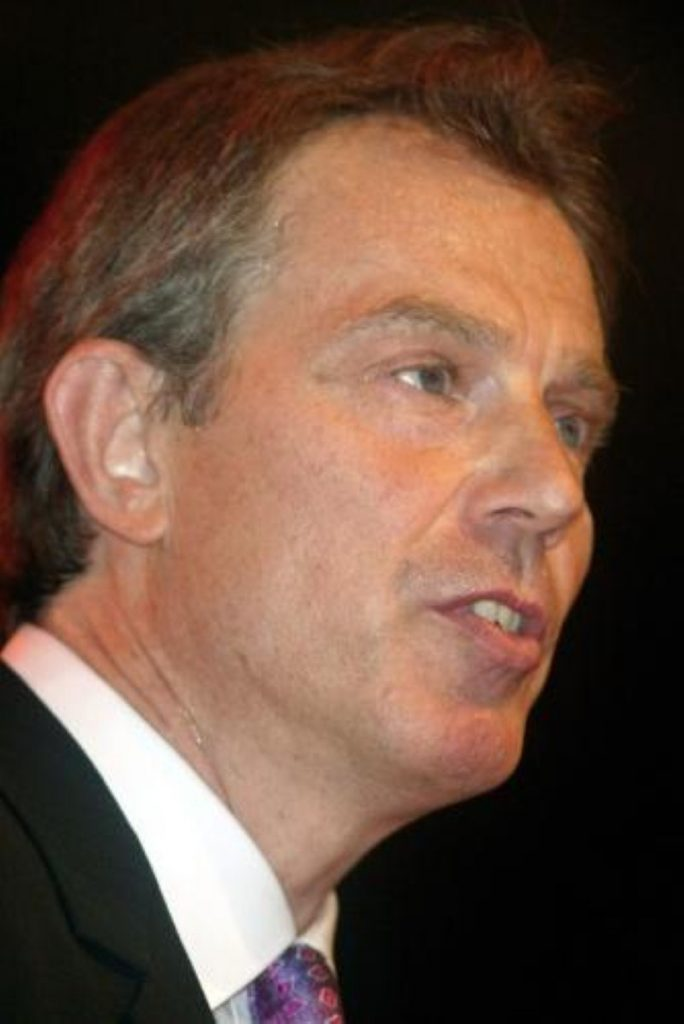 Tony Blair speaks out against Venezuelan president Hugo Chavez