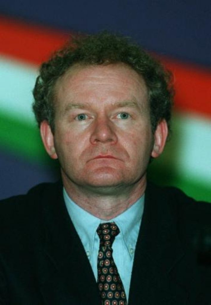 Sinn Fein may not nominate Mr McGuinness