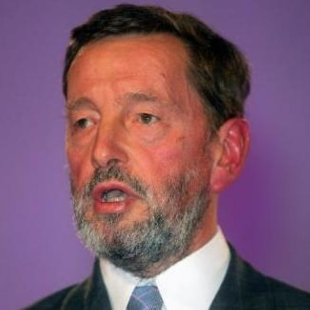 David Blunkett said secondary shool standards would take longer than primary to improve