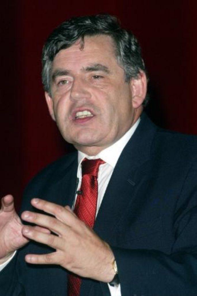 Gordon Brown, chancellor