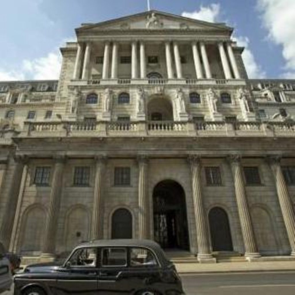The Bank of England raised interest rates by a quarter of a per cent today
