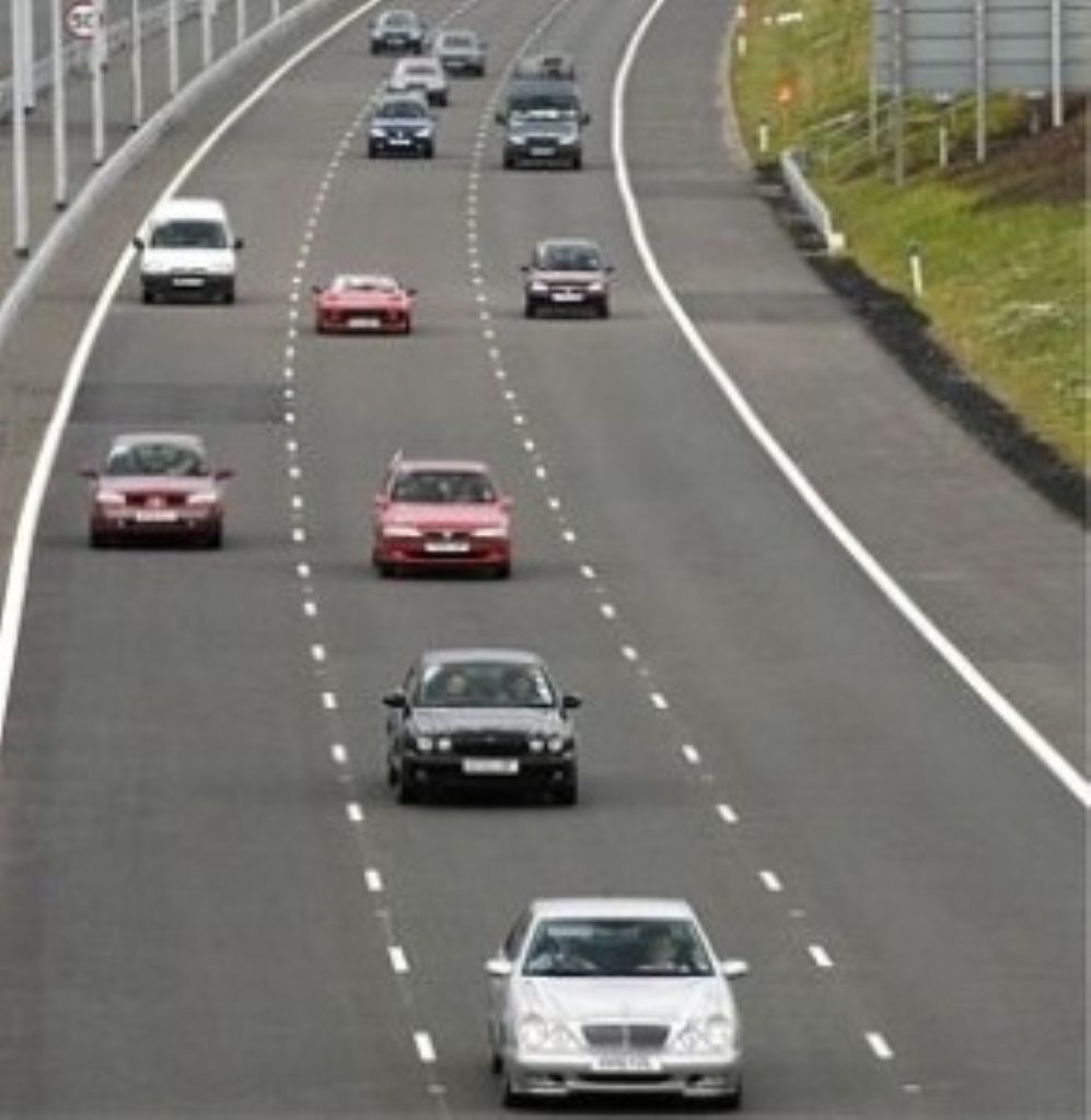 Police authorities already tend to turn a blind eye to motorists going at 80mph.