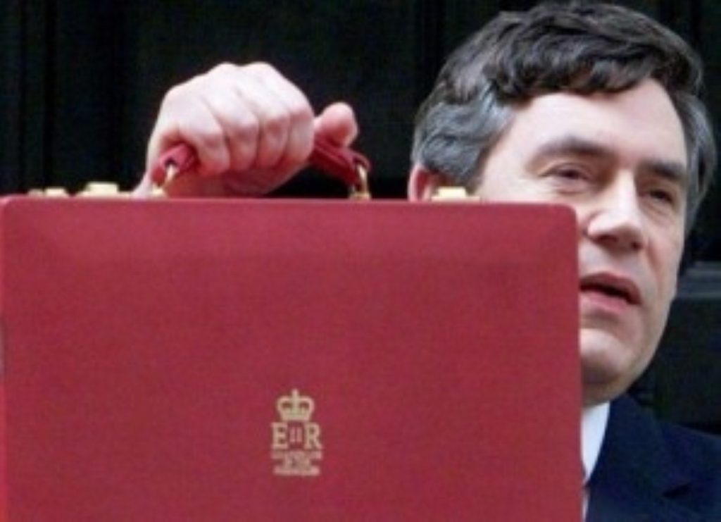 Gordon Brown comes under fire following publication of new public spending figures