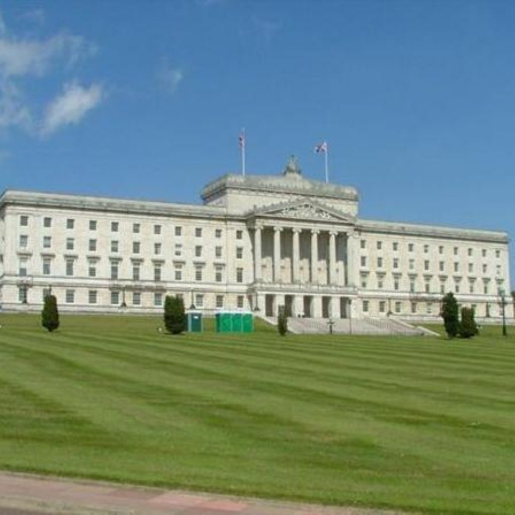 Stormont powersharing under threat