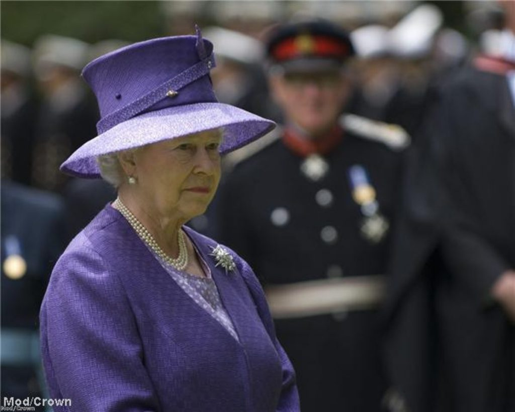 The Queen is also head of the Church of England