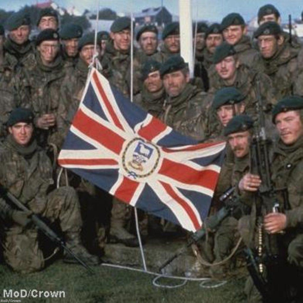 Falklands: A World War Two-era war in the modern world