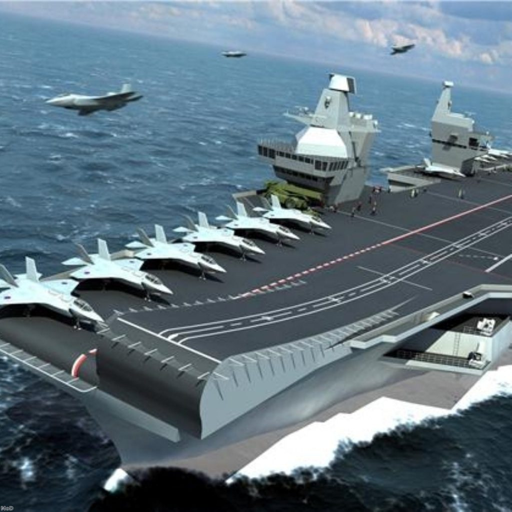 Aircraft carriers will go ahead after all - but the bill is creeping up