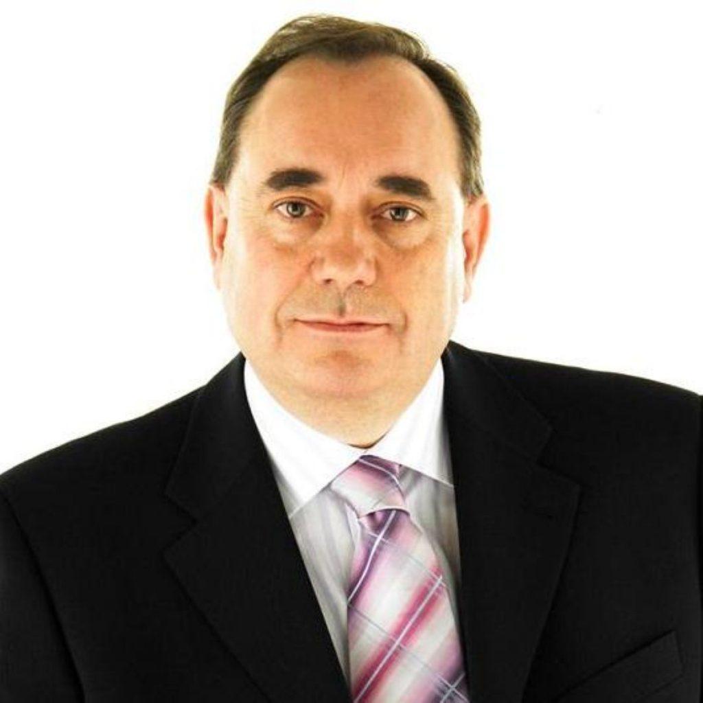 Alex Salmond wants to advance his National Conversation agenda