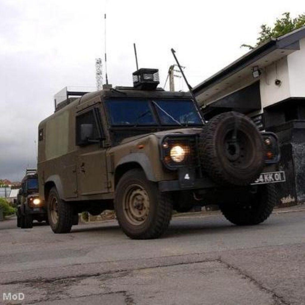 British forces in Northern Ireland