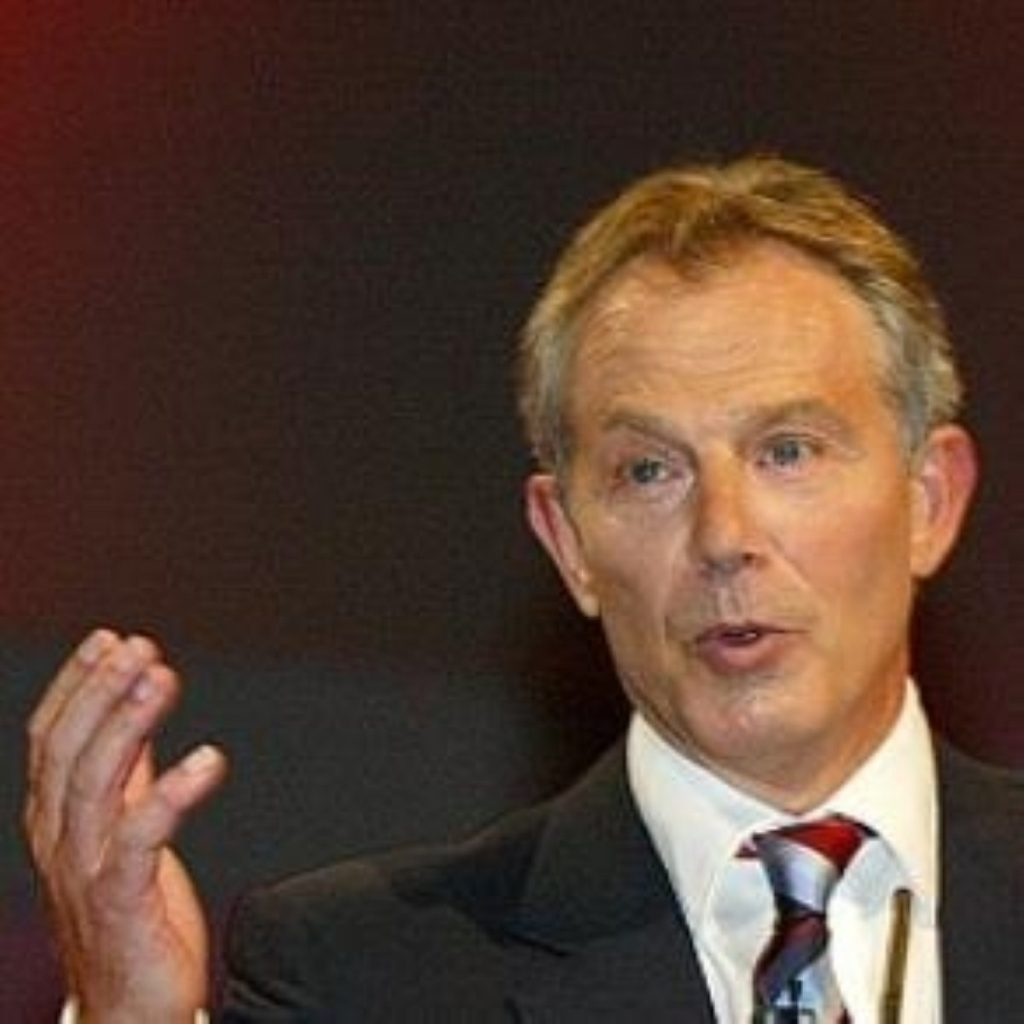 Former prime minister Tony Blair converts to Catholicism at London ceremony.