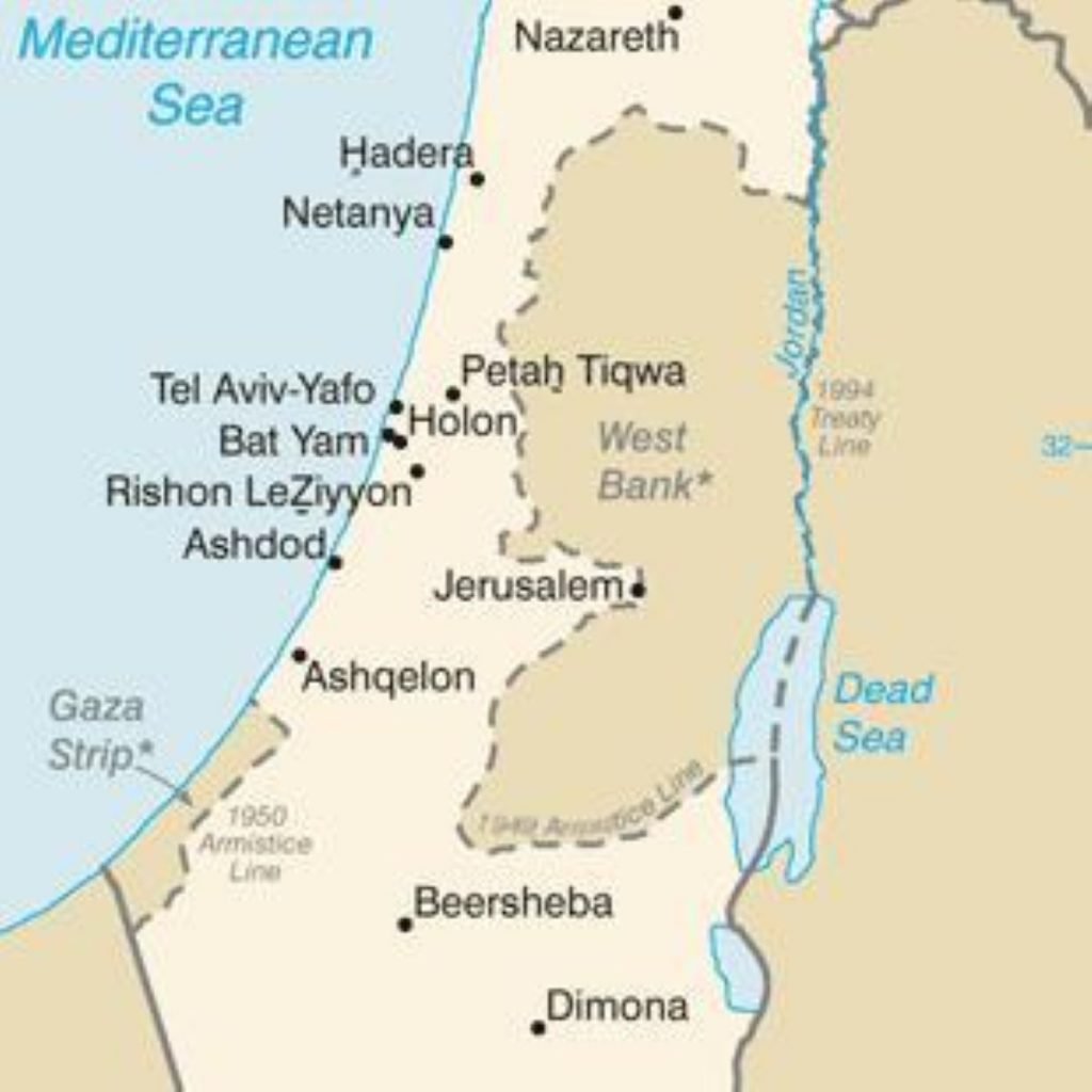 Activists say Israeli settlements make a peace deal less likely.