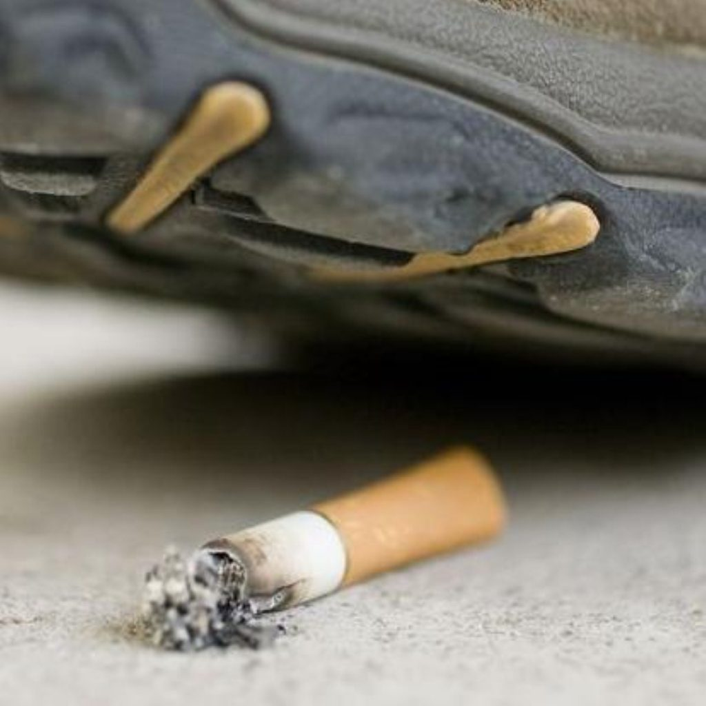 Those denied benefits are more likely to smoke