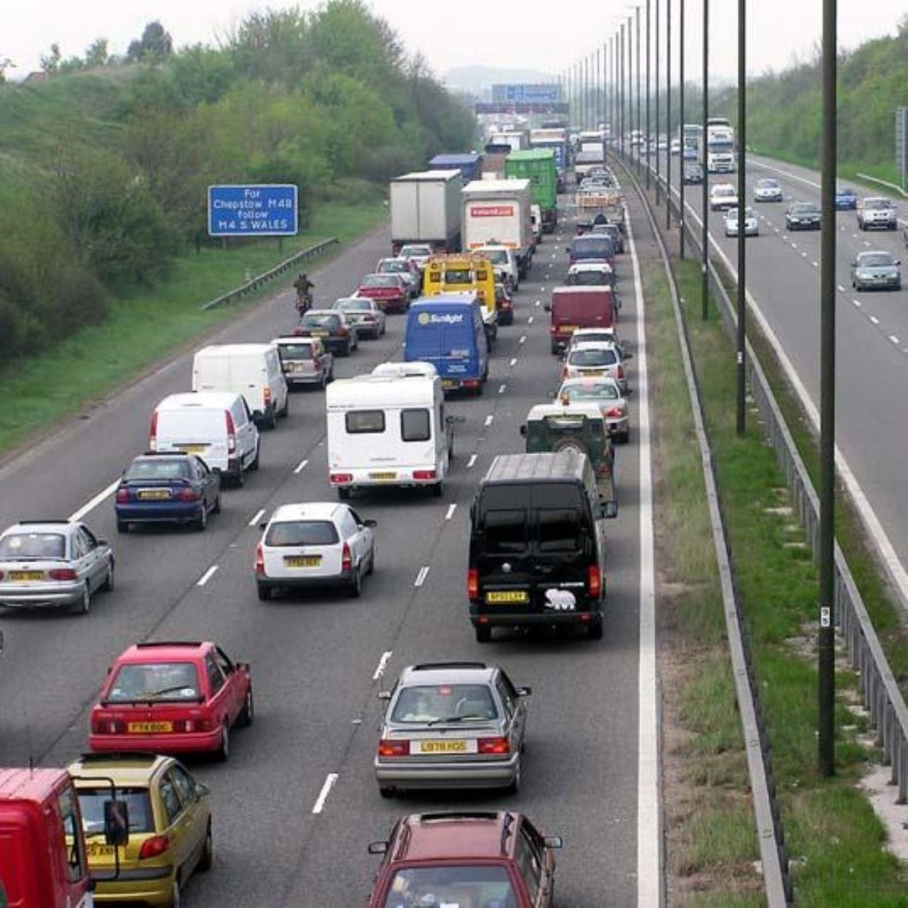 Motorists to be allowed on hard shoulders