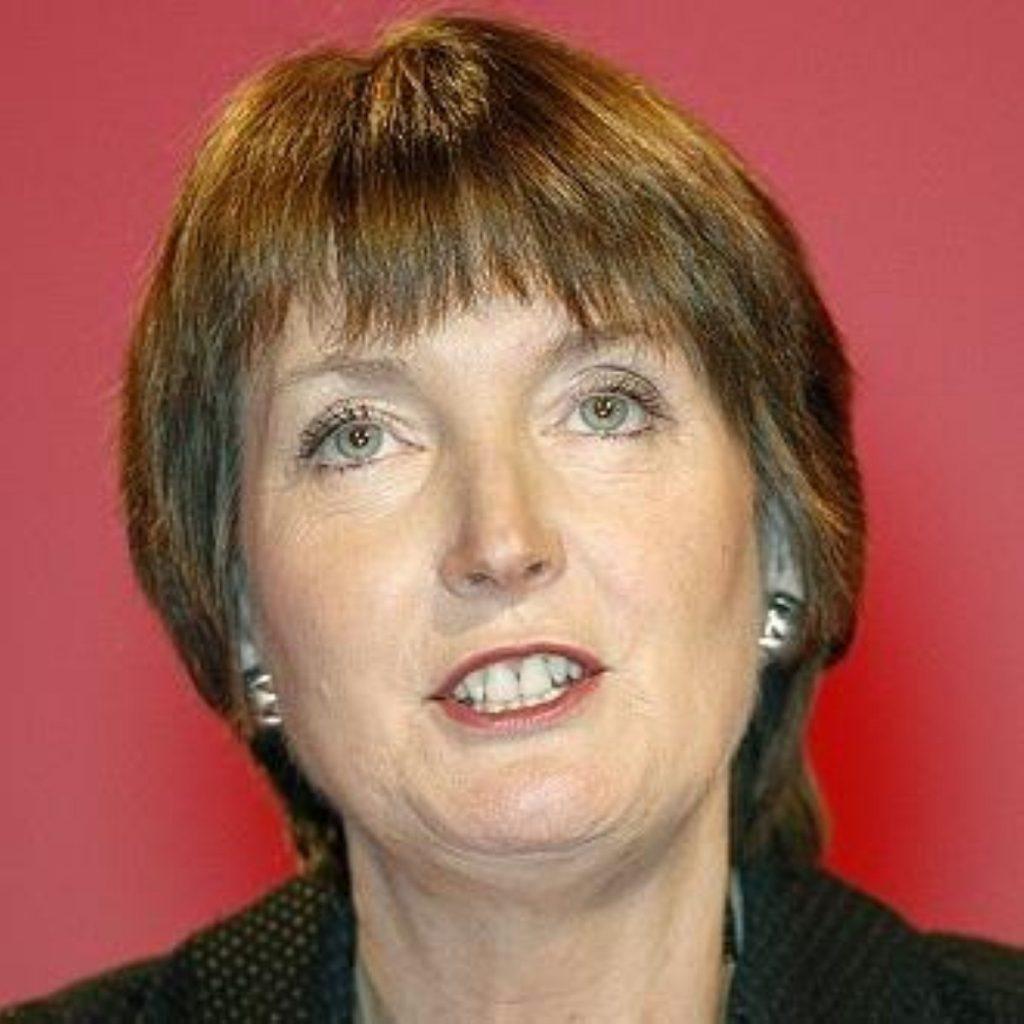 No police investigation for Harriet Harman
