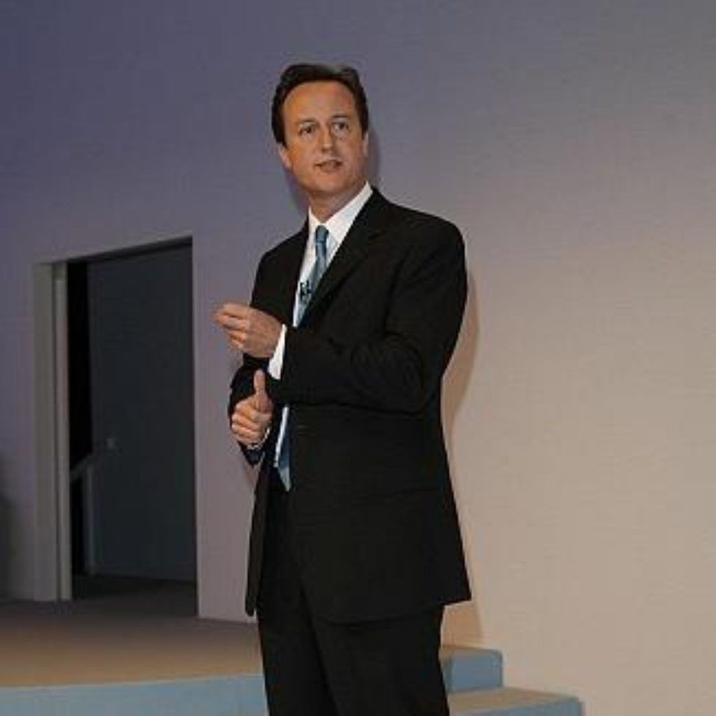 David Cameron is the first world leader to visit Egypt