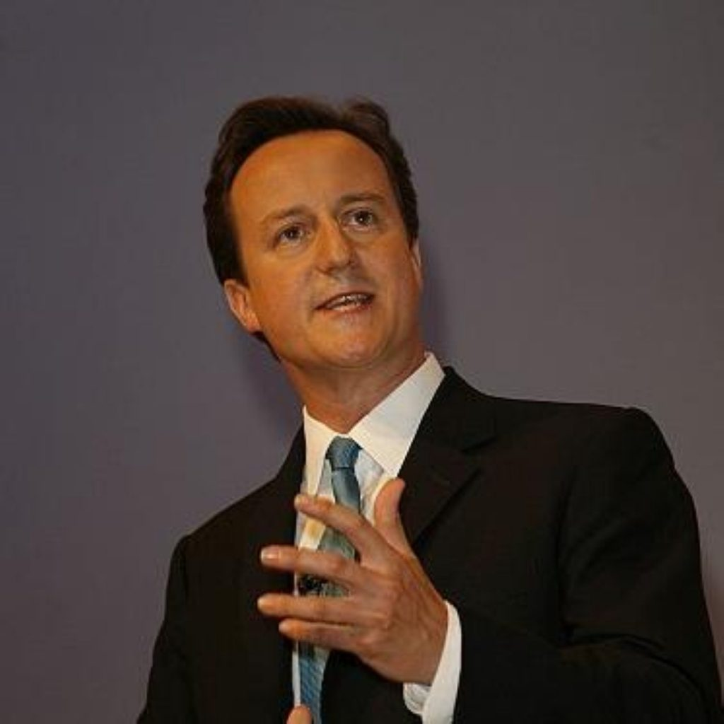 Cameron condemned the 'hands-off' approach to immigration