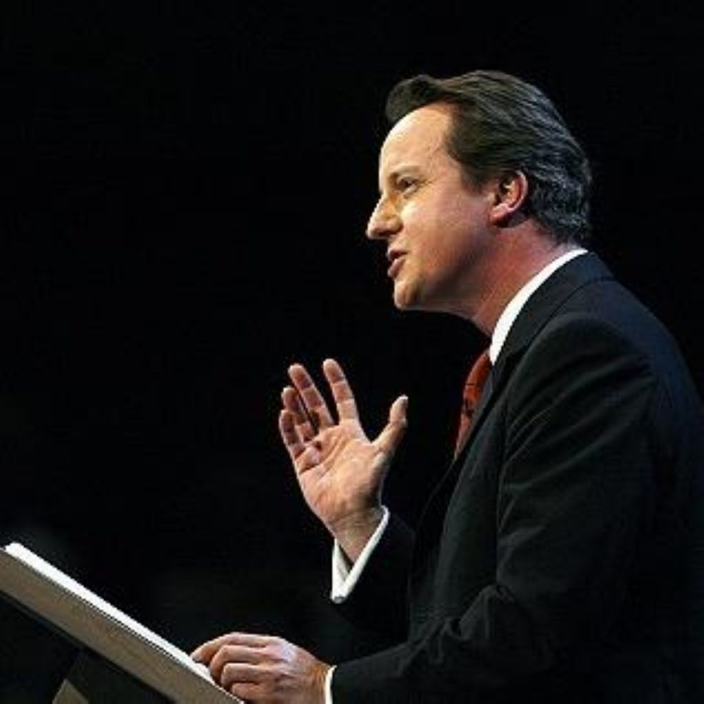 Cameron: We should look at all possibilities when it comes to funding infrastructure