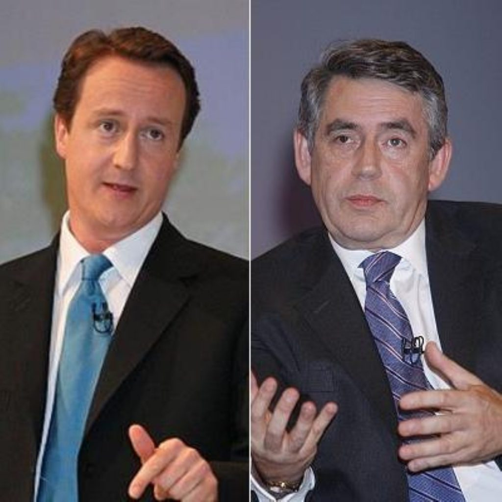Brown challanges Cameron to accept funding reform